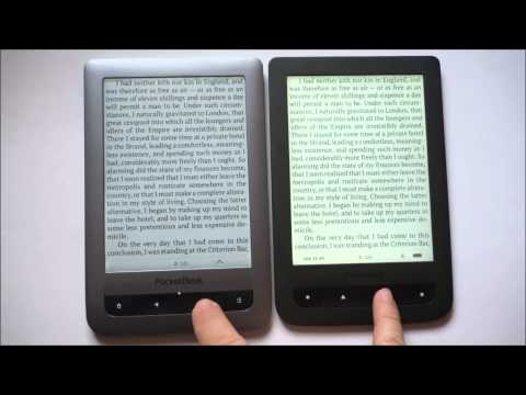 PocketBook Touch Lux 623 vs PocketBook Touch Lux 2 626