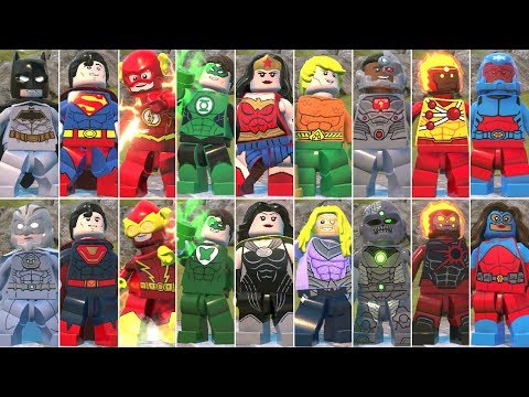 Justice League Vs. The Crime Syndicate In LEGO DC Super-Villains (Comparison)