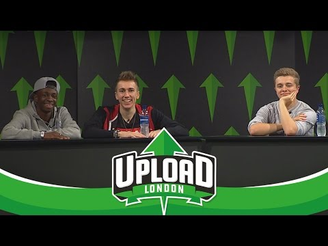 Vikkstar, Zerkaa & Miniminter - Upload Event & Q&A (Upload Event 2016 Saturday)