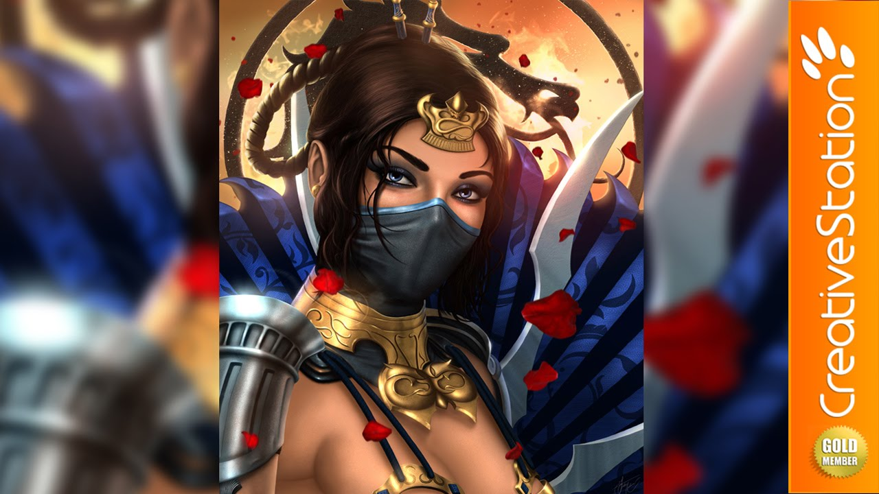 how to make kitana fans