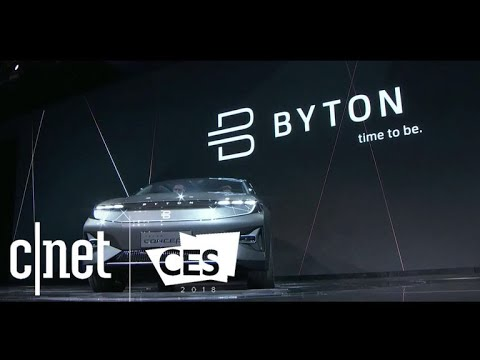 Byton shows Alexa-enabled EV at CES 2018