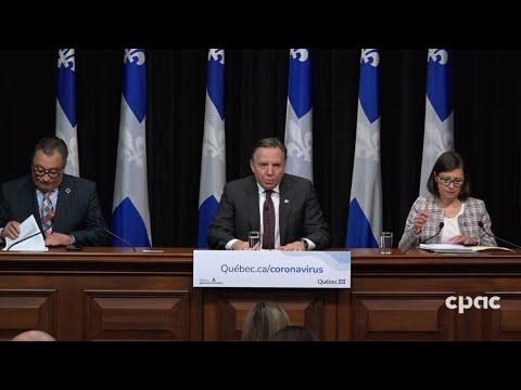 Mise à jour du Québec sur la réponse à la COVID-19 - 18 mars 2020