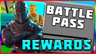 TOUS LES BATTLE PASS REWARDS! Fortnite Battle Royale - France Saison 2
