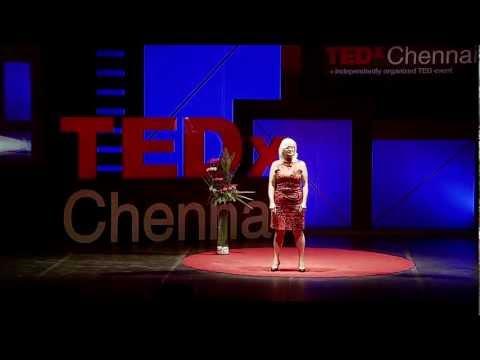 Caroline Rochon at TEDxChennai 2012