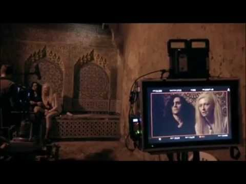 Only Lovers Left Alive: Behind The Scenes (Movie Broll) Tom Hiddleston, Tilda Swinton