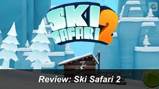 Ski Safari 2 - iPhone & iPad - HD Gameplay Review (deutsch)