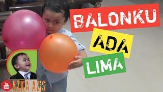 BALONKU ADA LIMA + LIRIK | LAGU ANAK INDONESIA