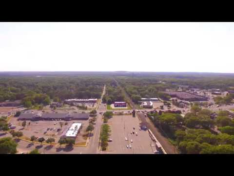 Flying over Shirley New York
