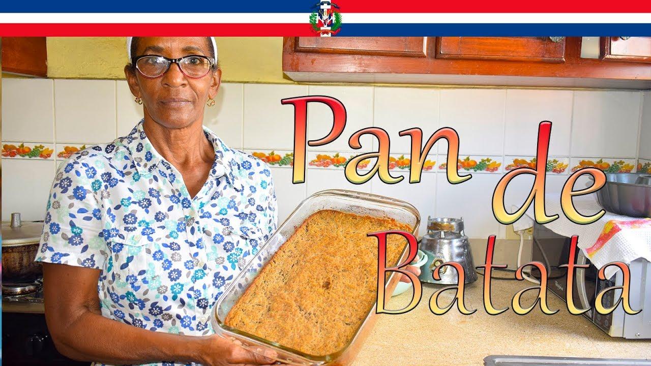 Receta Pan de Batata Estilo Dominicano - Cocinando con Yolanda