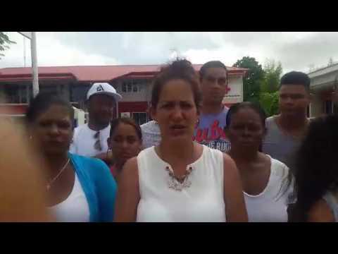 Ivoiny Moralobo Melo, migrante varada en Surinam habla sobre la decisión del presidente de ese país