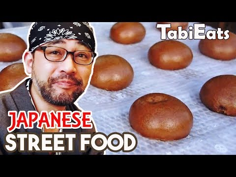 Street Food & Japanese Breakfast at KUSATSU HOT SPRINGS JAPAN