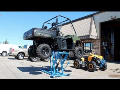 Redline Hd Atv 4 Four Wheeler Lift Doovi