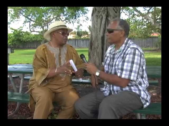Poetry in the Park  -  rencontre avec Guy Cayemite