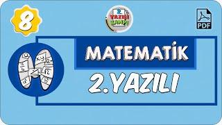 8. Sınıf Matematik | 1. Dönem 2. Yazılıya Hazırlık