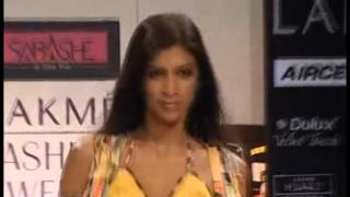 Inifdian Sabah Khan Collection at Lakme Fashion Week 2011 Thumbnail