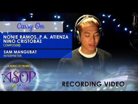 Sam Mangubat sings