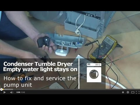 How to service a condenser tumble dryer pump unit indesit proline how to service a condenser tumble dryer pump unit indesit proline creda ariston hotpoint cheapraybanclubmaster Image collections