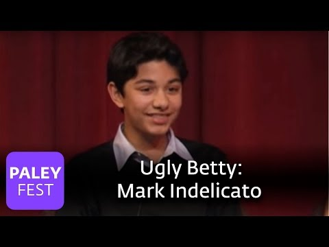Ugly Betty  Mark Indelicato on What Justin Represents Paley Center, 2007
