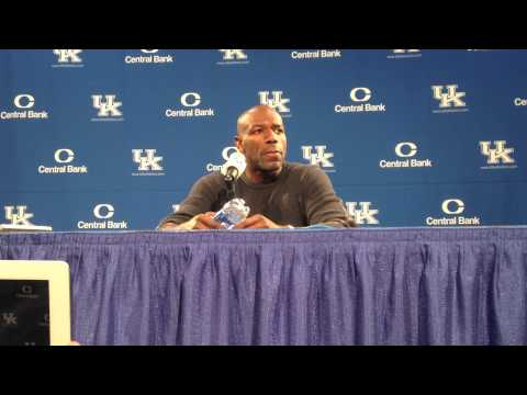 Tony Delk Reflects on Career at Kentucky Prior to Jersey Ceremony