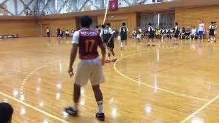 H29 ハンドボール秋季二部リーグ 明星大vs 関東学院(1/5)