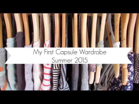Summer Capsule Wardrobe 2015 | Mostly Thrifted and Breastfeeding Friendly