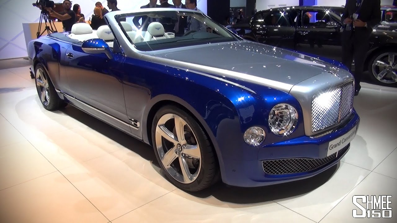 FIRST LOOK: Bentley Grand Convertible - LA Auto Show 2014 - YouTube