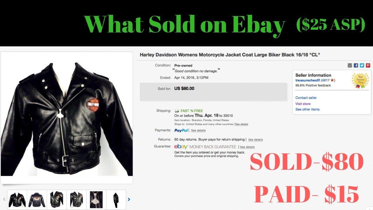 25 Average Ebay Sale Price What Sold For Profit April 2018