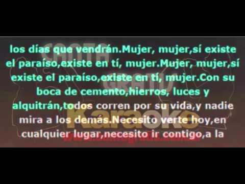 Los Rancheros - Mujer (CantaGratis- Karaoke)