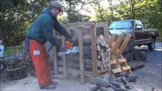 Cutting Poles In The Sawbuck