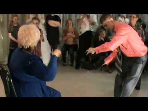 Танец на свадьбе тещи и зятя