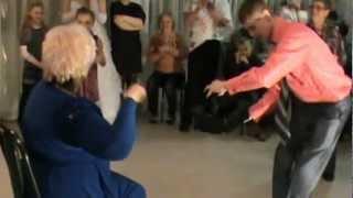 танец зятя и тёщи