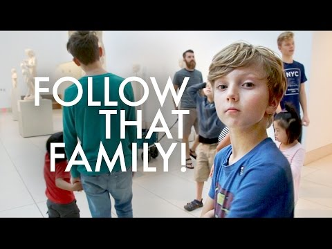 BIG FAMILY BEING HARASSED AT A MUSEUM : RV Full-time w/9 kids