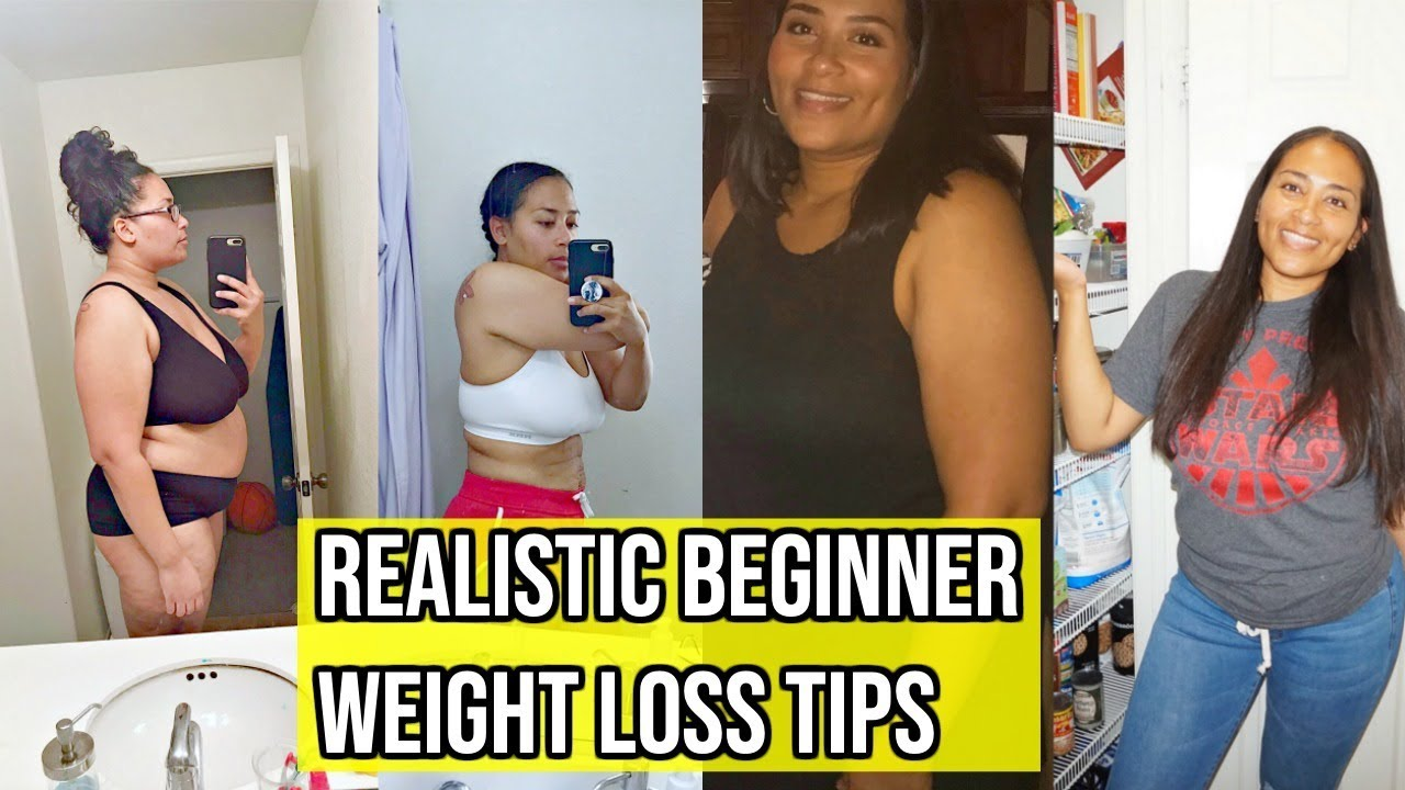 How I Started My Weight Loss Journey Realistic Weight Loss Tips Weight Loss Motivation Youtube