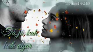 #Best love 💕💗whatsapp  status 💘on Bollywood  song💙💓Tu dua hai 💕dua...