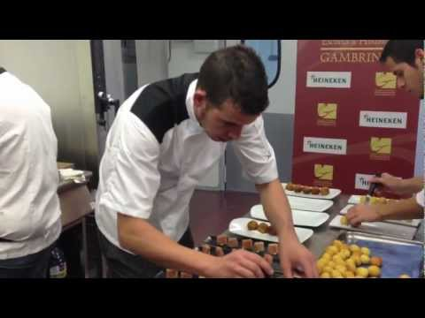 Show Cooking Escuela Gambrinus Valencia
