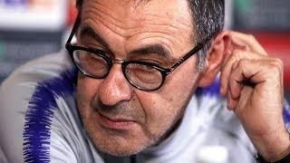Maurizio Sarri's future at Chelsea dominates Europa League press conference