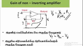 9.9.இலத்திரனியல் - மறை பின்னூட்டல் | Physics | A/L | Tamil Medium | Electronics
