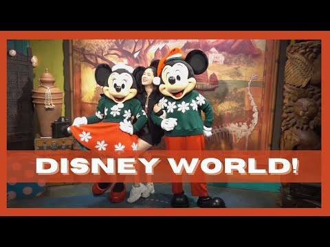 Vlog #7: Exploring Epcot and Animal Kingdom | Mikee Quintos