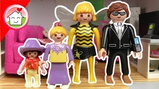 Playmobil Film deutsch - Familie Hauser in 3 Fasching STYLES - Spielzeug Kinderfilm