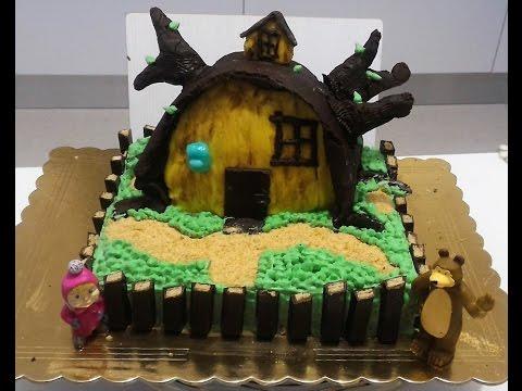 Masha E Orso Torta Di Compleanno Masha And The Bears Cake