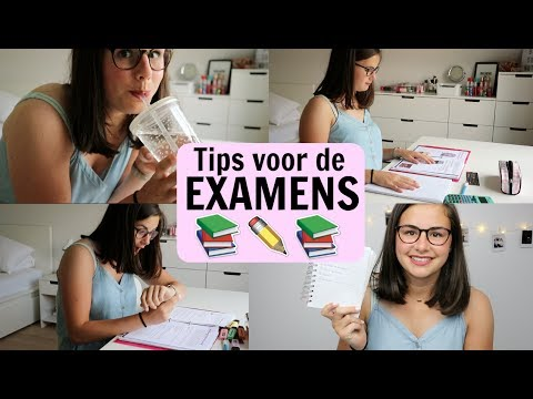 Tips voor de EXAMENS | Examenvideo || LiveLikeFloor