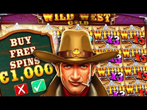 Random Michael 🔥 Destroyed Wild West Gold 🤠 Again €1.000 Bonus Buys MEGA BIG WINS 🤑 HUGE PROFIT‼️