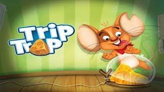 Воришка Мышка Trip Trap 1 МЫШОНОК И СЫР прохождение логической игры для детей Мышка как Воришка Боб