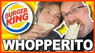 Burger King Whopperito Review with Ken & Ben in Ohio   KBDProductionsTV