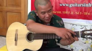 [Hướng dẫn] Em về kẻo trời mưa - guitar solo - điệp khúc
