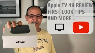Apple TV 4K REVIEW FIRST LOOK TIPS AND MORE...