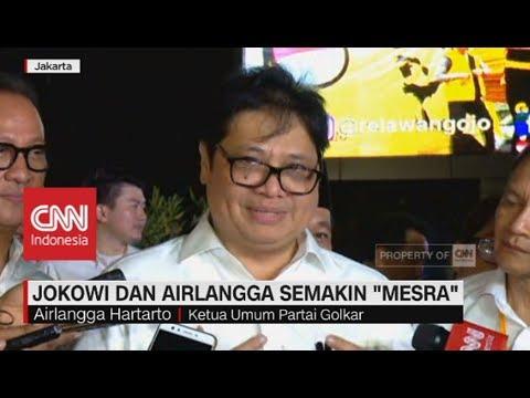 "Jokowi & Airlangga Semakin ""Mesra"""