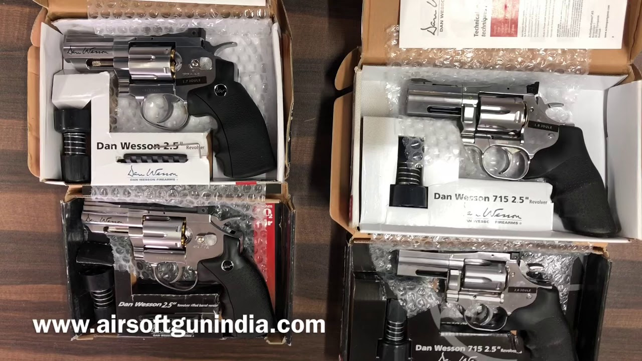 Dan wesson and dan wesson 715 by airsoft gun india