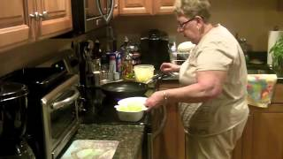 Stuffed Zucchini - Episode 19- Cooking With Mama Lombardo