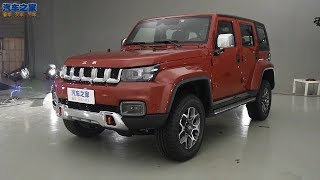 NEW BAIC BJ40 2018 SUV 4x4 Interior & Exterior Overview